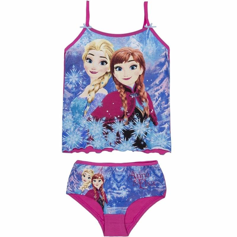 0b894029efb7e7 Frozen Anna en Elsa ondergoed roze | Fun en Feest Megastore Alkmaar