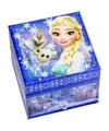 Blauw doosje voor sieraden Frozen