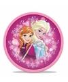 Frozen wandklok Anna en Elsa 25 cm