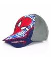 Navy blauwe petjes van Spiderman