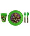 Turtles 3-delig ontbijtservies voor kids