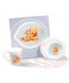 5-delige blauwe servies set van Winnie de Pooh